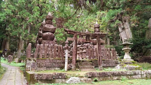 高野山毛利家のお墓