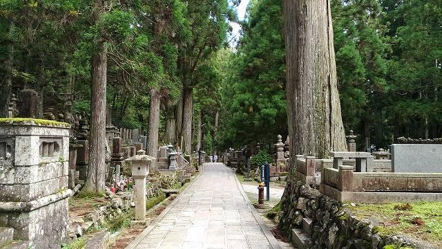 高野山 奥の院の道