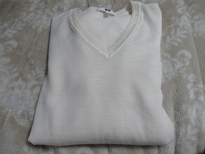 セーター 白