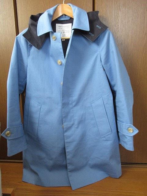 bluework ステンカラーコート