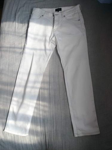 ジョゼフオムの白デニム画像